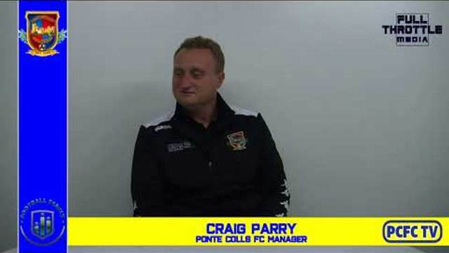 Ponte vs Pickering Town Craig Parry reaction 28th Sept 2019
