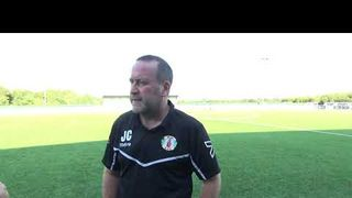 Interview with Jim cooper about Grays  win over Basildon United