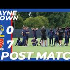 Post Match Interview | Wayne Brown vs Romford