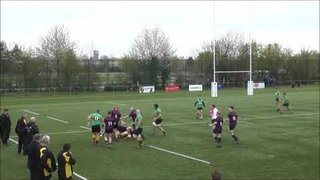 1XV vs Maidenhead - Simon Bayliss try