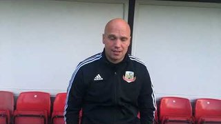 13.10.19 Stanners gives his thoughts following our FA Vase defeat to Stockton