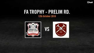 Bristol Manor Farm 1 - 0 Paulton Rovers - FA Trophy (12.10.18)