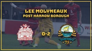 MANAGER INTERVIEW| Harrow 0-2 GOSPORT: LEE MOLYNEAUX