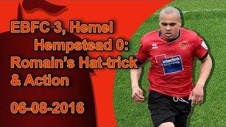 Eastbourne Borough 3, Hemel Hempstead 0: Elliott Romain's Hat-trick and Selected Highlights