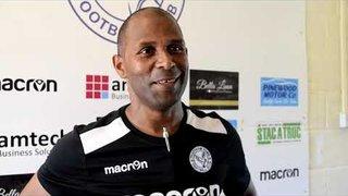 Thatcham Town FC vs Sholing FC | Keith Pennicott-Bowen Interview