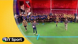 Pitch Demo: Brian O'Driscoll & Nick Evans phase play masterclass | Rugby Tonight