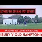 FIRST ROUND OF THE T20 CUP!!!  National T20 Cup Round 1 - Sunbury v Old Hamptonians