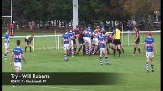 Highlights Round 10 v Blackheath