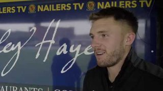Charlie Dawes - Post-match Interview - Belper Town 2-1 Rushall Olympic