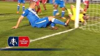 Stourbridge 0-2 Eastleigh - Emirates FA Cup 2015/16 (R2) | Goals & Highlights