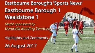 Eastbourne Borough 1 v 1 Wealdstone