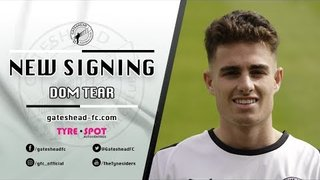 INTERVIEW: Loan signing Dom Tear speaks following Heed arrival