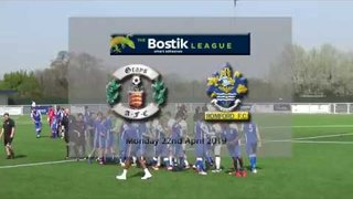 Grays Athletic fc v Romford FC Bostik North 22/4/19