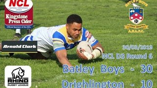 Batley Boys 30 - 10 Drighlington