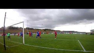 Tom Siddons scores for Stamford v Sheffield 31 08 19
