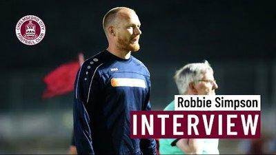Robbie Simpson post Felixstowe & Walton Utd (A)