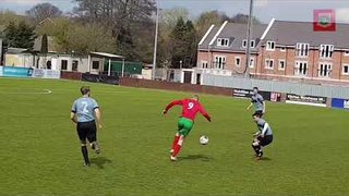 League game 13.04.19 - Harrogate Railway Rsv v Kirkby Malzeard