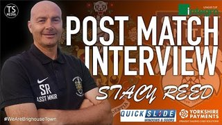 Stacy Reed Post Ossett Town - Integro League Cup