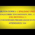 1920 Carlton Town 1-1 Spalding United Match Highlights 25/09/2019