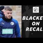 INTERVIEW   Blackett on loan recall and first start of the season