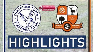 Thatcham Town FC vs Hartley Wintney FC | Highlights