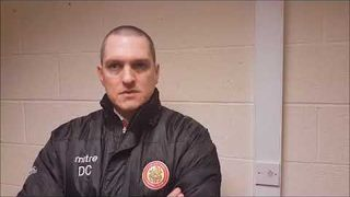 Harlow Town FC vs Metropolitan Police FC post match interview - 10/03/18