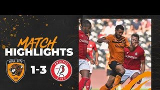 Hull City 1-3 Bristol City | Highlights | Sky Bet Championship