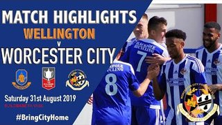 Wellington 0 Worcester City 5 - 31st August 2019