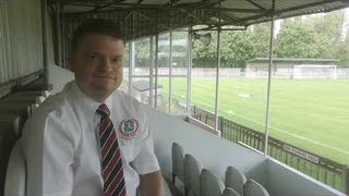 Pre Season - Chairman Jake Collinge speaks ahead of Uxbridge