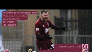 Highlights - Chelmsford City vs Hampton & Richmond Borough