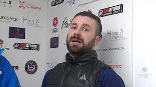 Herring & Boardman post match | Chippenham Town | National League South | 26.12.17