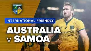 Australia v Samoa | International Test Highlights