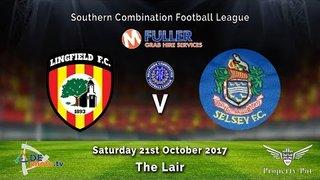 Lingfield FC v Selsey FC - League - 21-10-2017