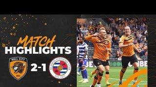 Hull City 2-1 Reading | Highlights | Sky Bet Championship