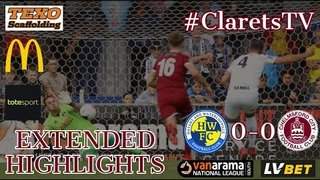 EXTENDED HIGHLIGHTS:  Havant & Waterlooville 0-0 Chelmsford City - 17/08/2019