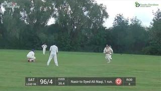 Ali Naqi 60 Not out
