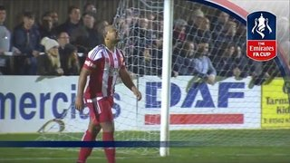 Stourbridge 3-0 Whitehawk (Replay) Emirates FA Cup 2016/17 (R1) | Goals & Highlights