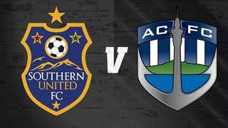 ISPS HANDA Premiership - Week #16 - Southern United FC vs Auckland City