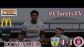 EXTENDED HIGHLIGHTS: Weymouth 4-1 Chelmsford City - 10/08/2019