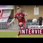 Cameron James on his contract extension
