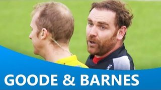 Andy Goode's funny interactions with Wayne Barnes - a bit of a giggle!!!!