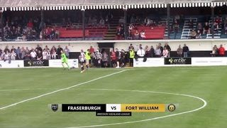 Fraserburgh vs Fort William | Highlights | Breedon Highland League | 24 August 2019