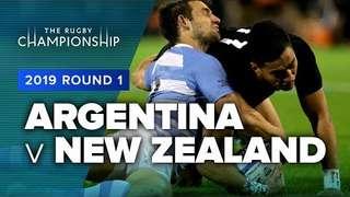 Argentina v New Zealand | TRC Rd 1 Highlights