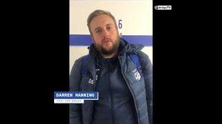 Post match interview: Darren Manning vs Heybridge Swifts