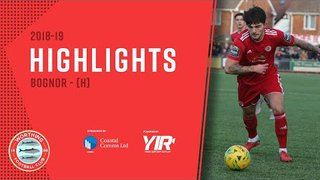 Highlights: Worthing 0-2 Bognor - 22.12.18