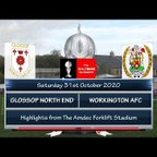 Glossop North End v Workington 31/10/20