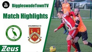 HIGHLIGHTS: Stourbridge FC vs Biggleswade Town (2-0)