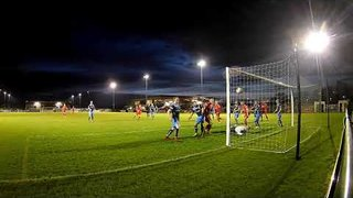 Goals for Stamford from Joe Burgess and Jon Challinor in the 2-0 defeat of Tadcaster  02 04 19