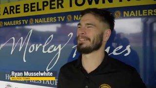 Ryan Musselwhite - Post-Match Interview - Belper Town 1-0 Stocksbridge Park Steels