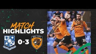 Tranmere Rovers 0-3 Hull City | Highlights | Carabao Cup 1st Round
